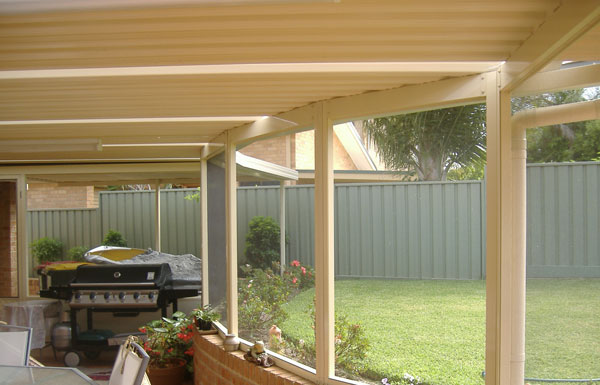 Flat Roof Screen Room : All seasons patios home addition gable roof pitched