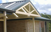 Gable roof in Mollymook