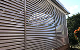 Aluminium Fixed Louvers